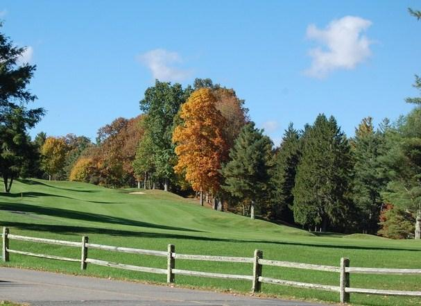 Linville Land Harbor offers numerous homes for sale right on the fairways of the golf course.  What a way to end the day!