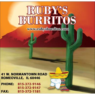 Ruby  Burritos