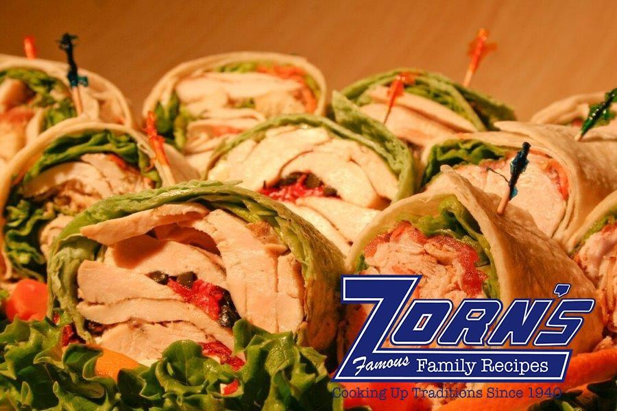 Fresh selection of assorted wraps available both in store and on our catering menu.  Perfect for meetings and special events