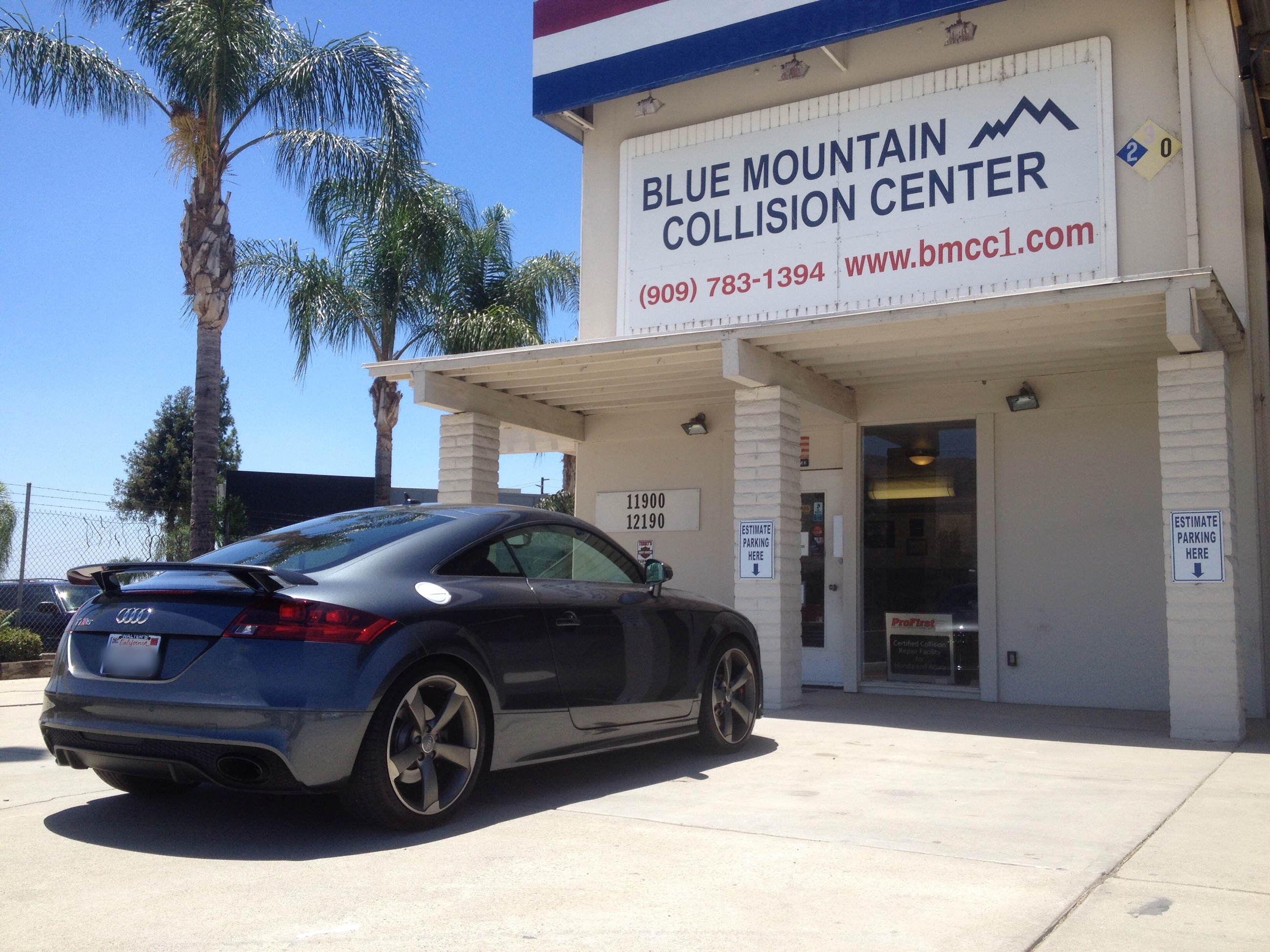 Blue Mountain Collision Center - Grand Terrace, CA