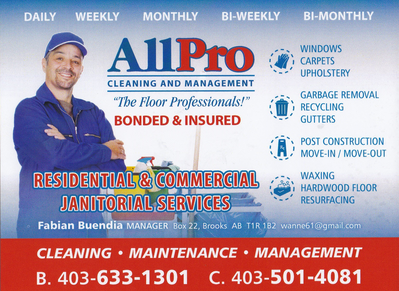 All Pro Cleaning & Management