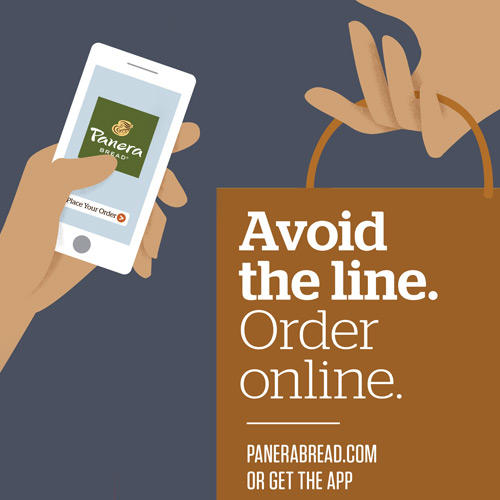 Order online for Rapid Pick-Up at delivery.panerabread.com