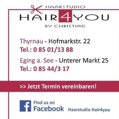 Logo von Haarstudio Hair4You,  Christine Poschinger
