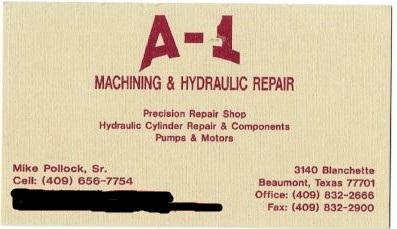 A1 Machine and Hydraulic Repair image 1