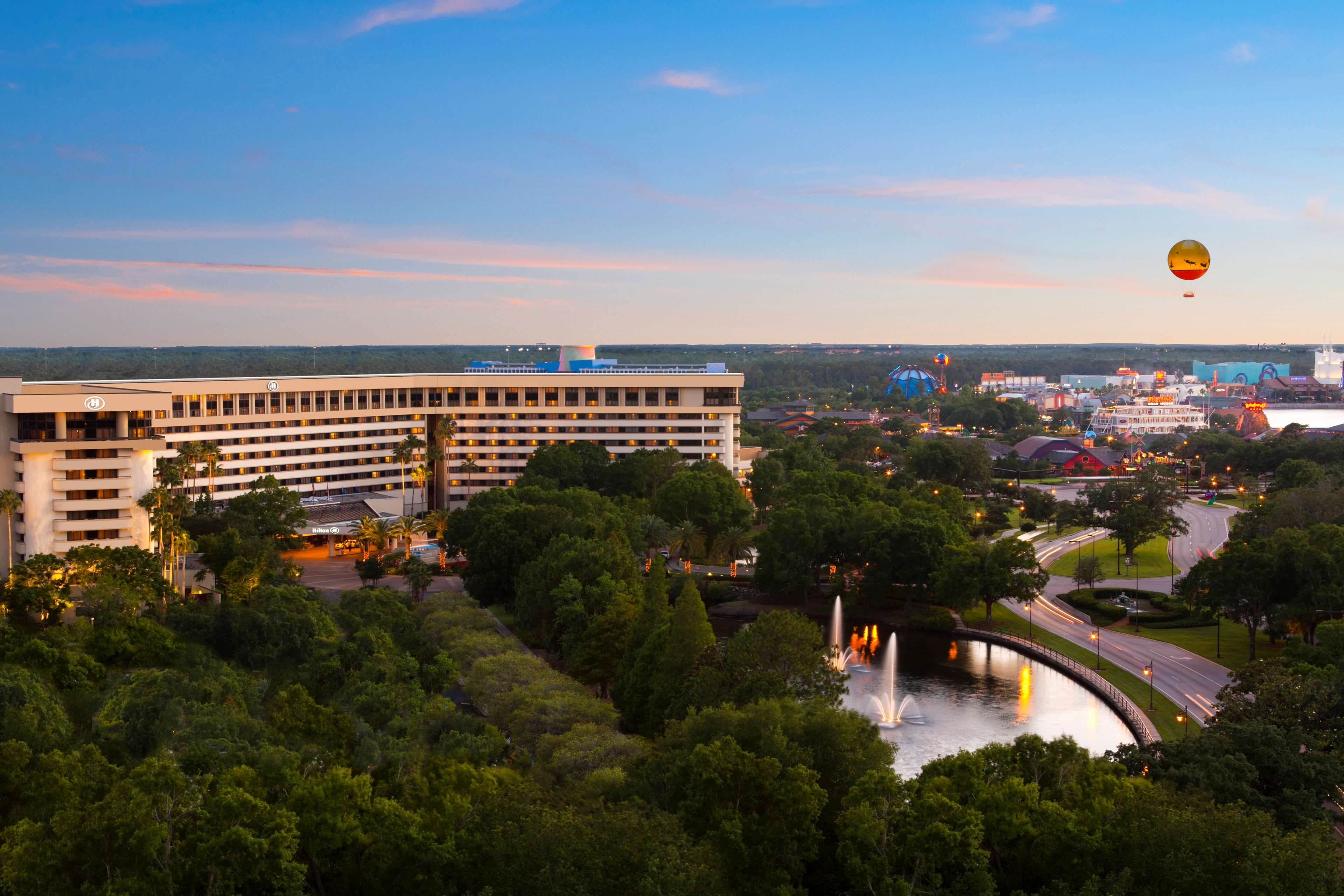 Hilton Orlando Lake Buena Vista Disney Springs Area At
