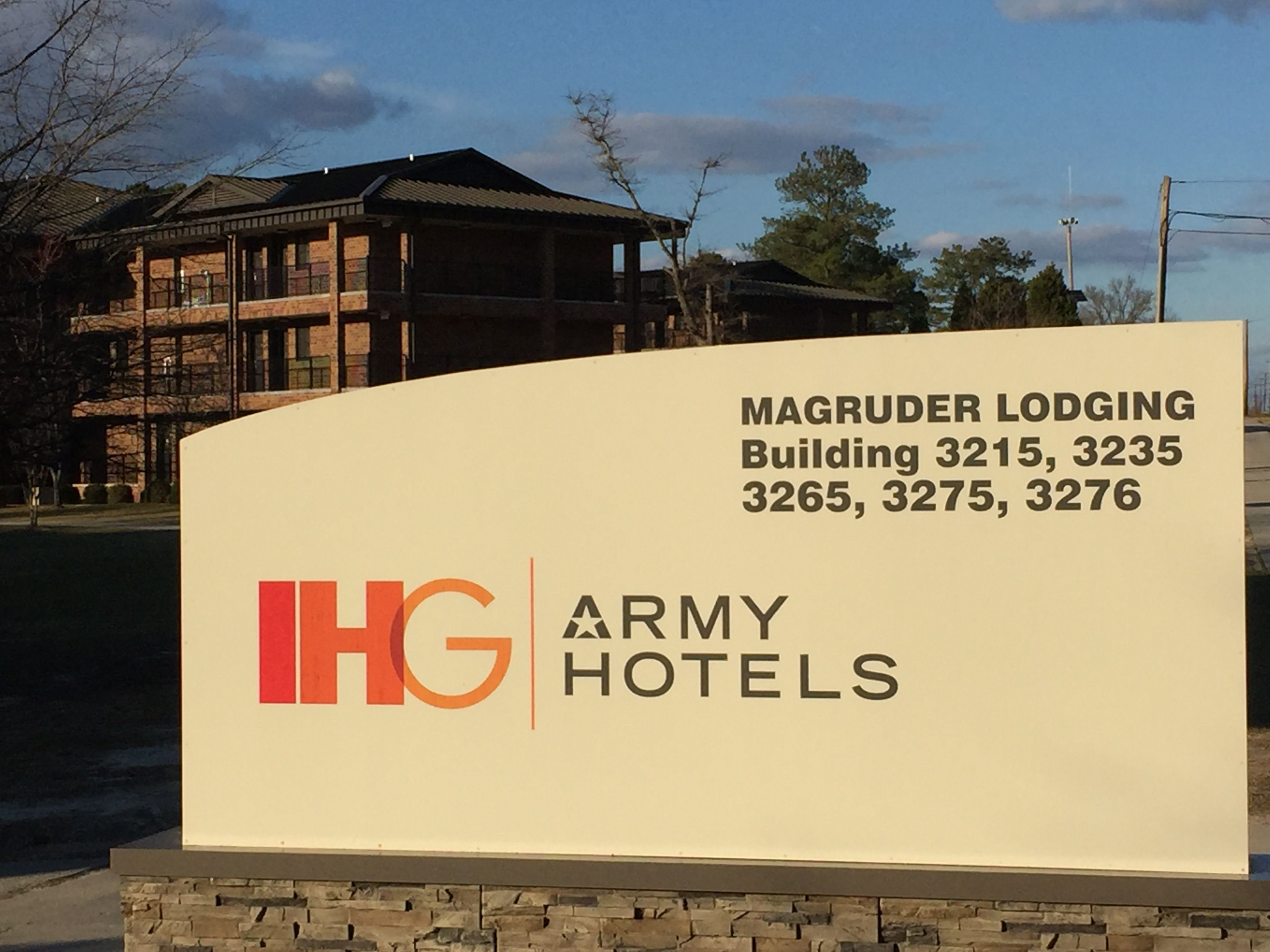 IHG Army Hotels Magruder Transient Area image 0