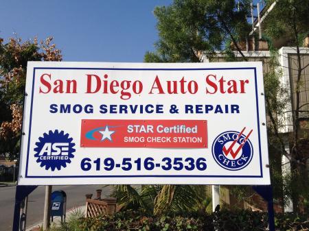 San Diego Auto Star Smog Service & Repair image 1