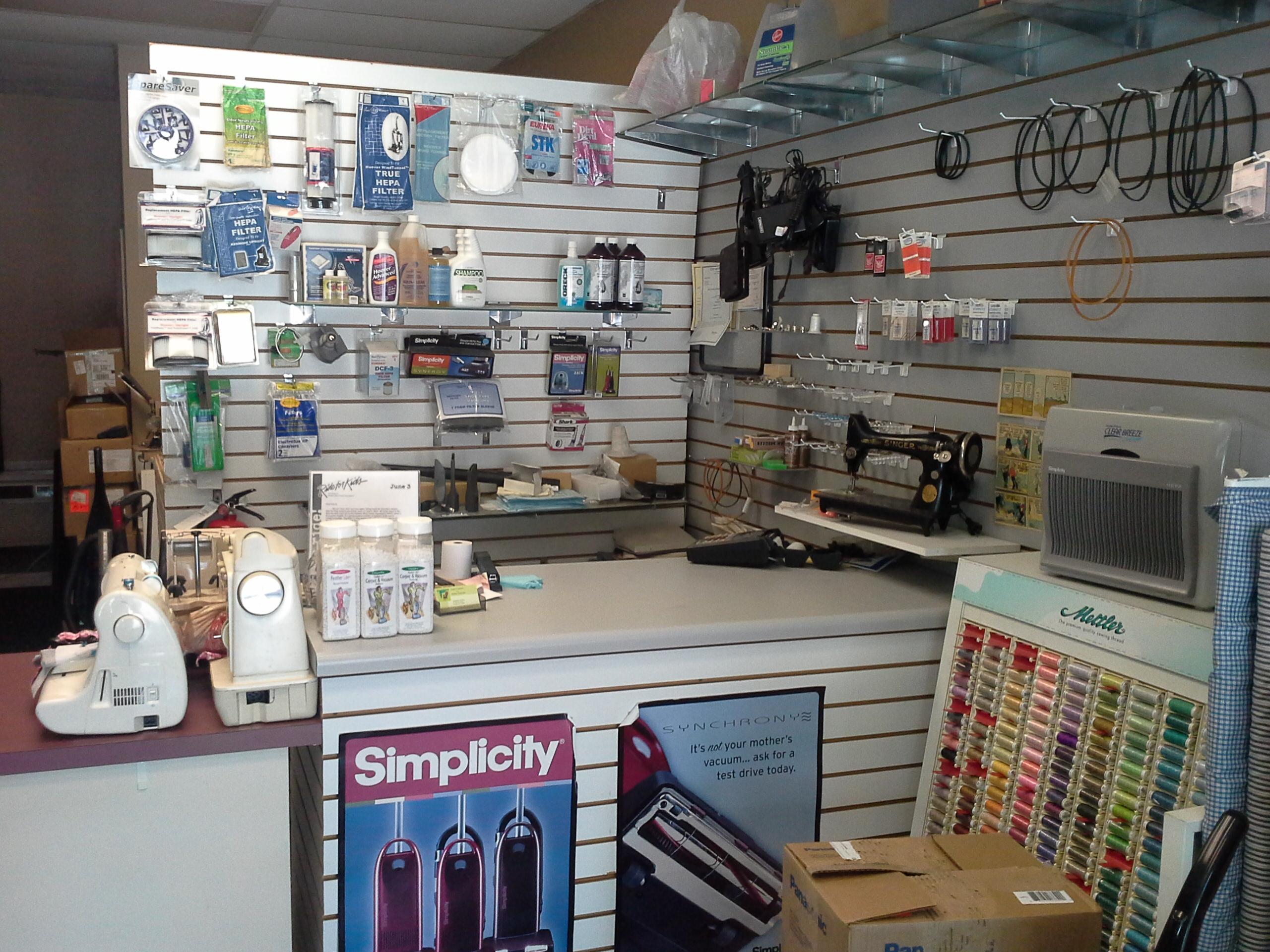 sewing machine and vacuum repair