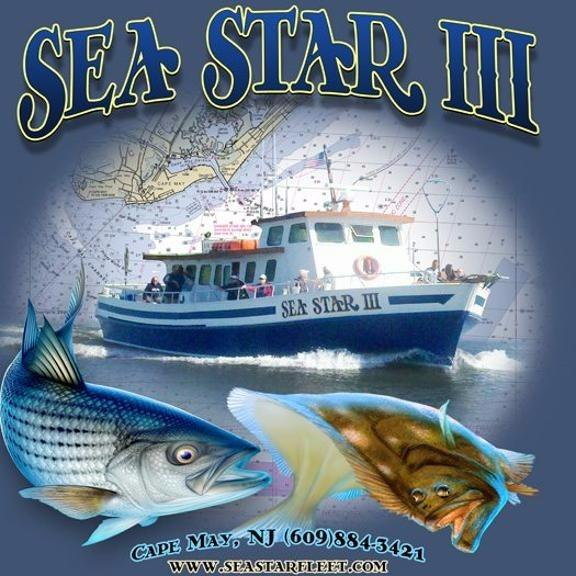 Sea star iii deep sea fishing cape may nj company page for Wildwood nj fishing charters