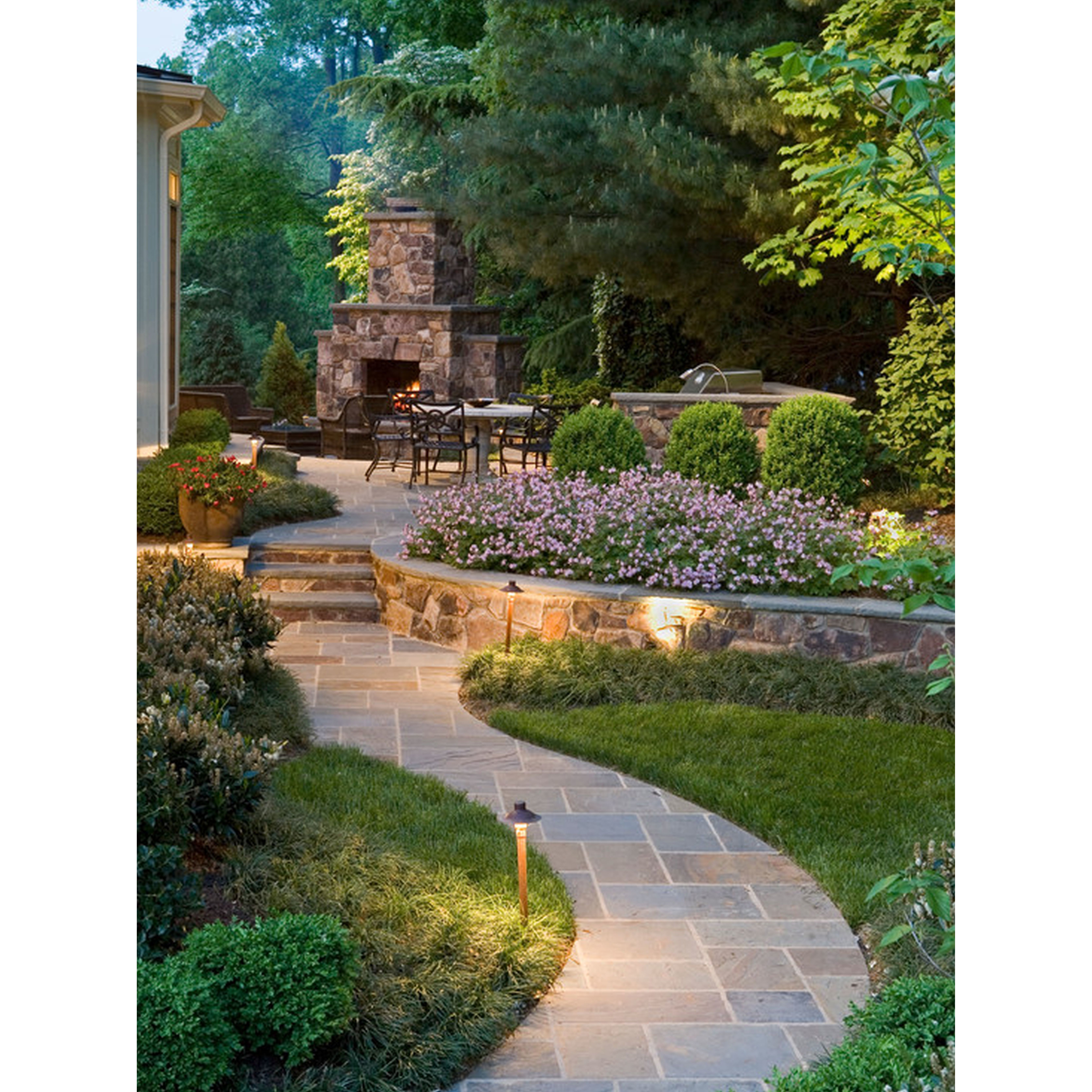 Residential Landscape and Masonry