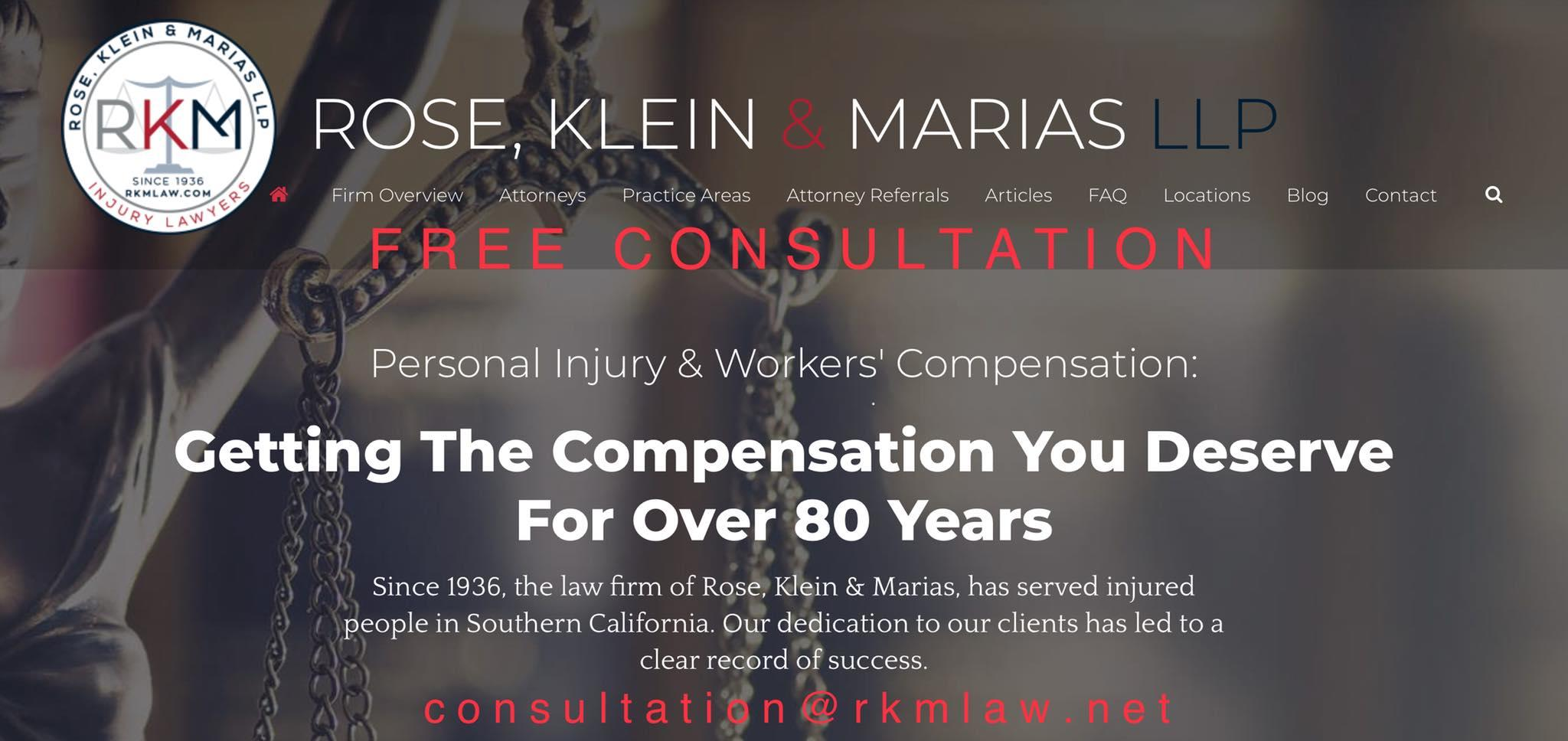 Rose, Klein & Marias LLP - Injury Lawyers image 2