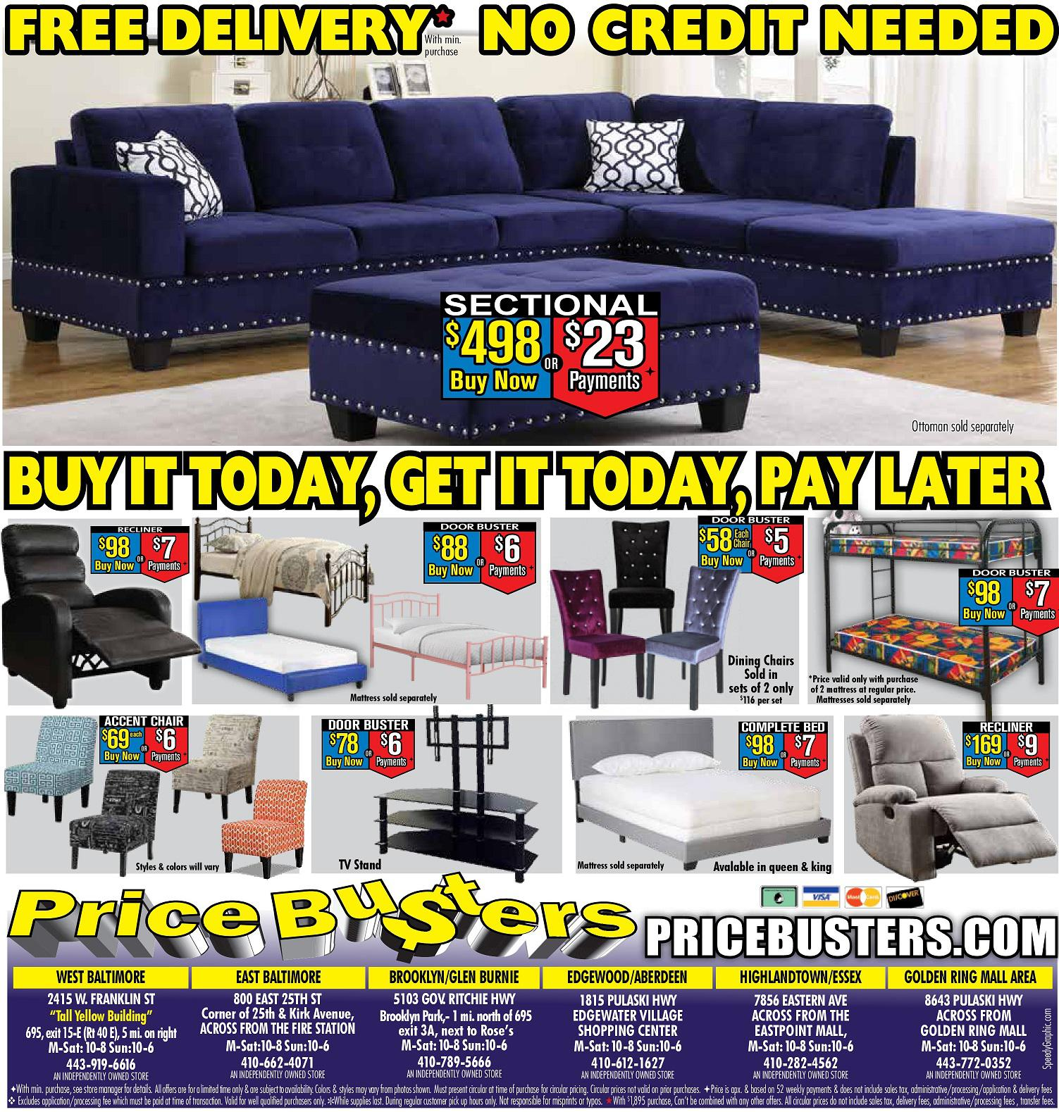 Price Busters Discount Furniture Furniture Store Baltimore Md 21223