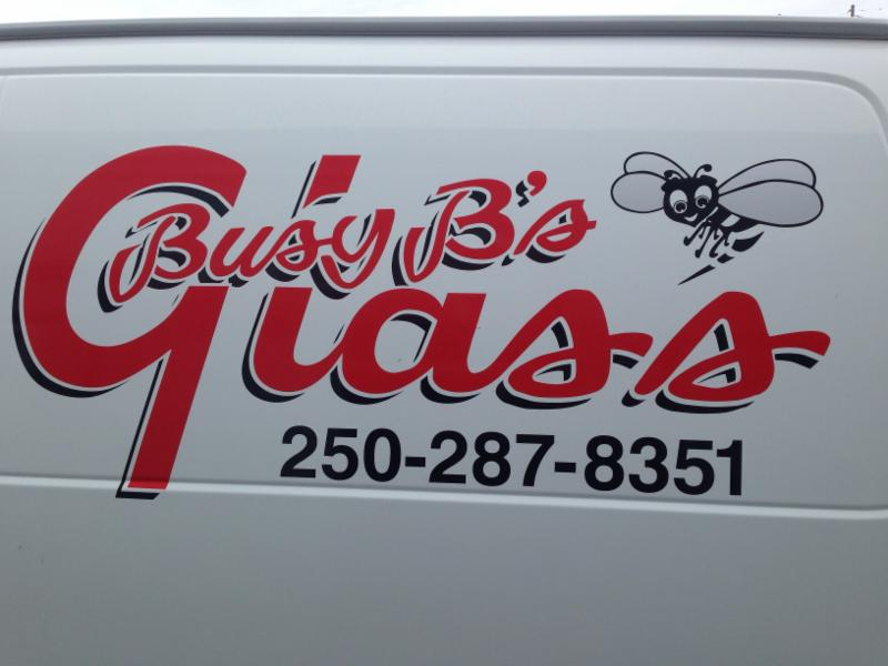 Busy B Glass in Campbell River