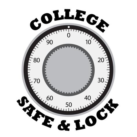 College Safe & Lock image 0