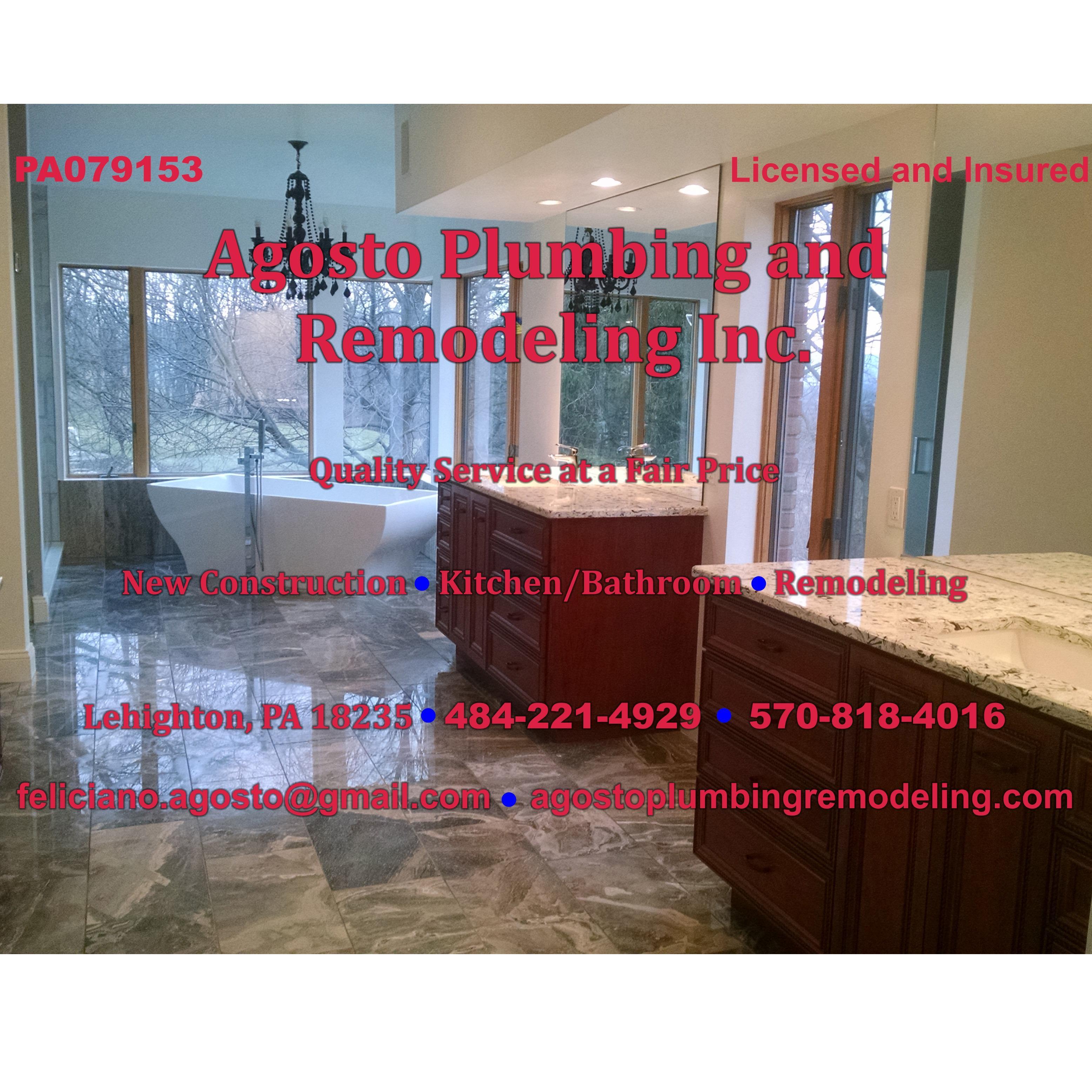 Agosto Plumbing & Remodeling Inc.