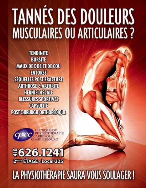 Clinique de Physiothérapie Carrefour Charlesbourg à Québec
