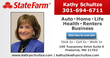 Kathy Schultze State Farm Insurance Agent 100 Tuscanney Drive Suite E Frederick Md Insurance Mapquest
