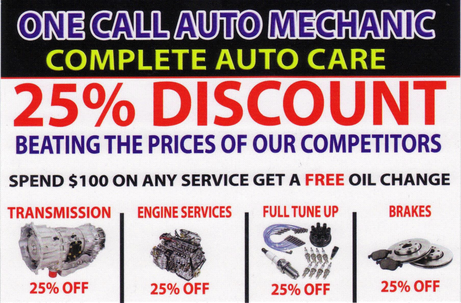 One Call Auto Mechanic image 12