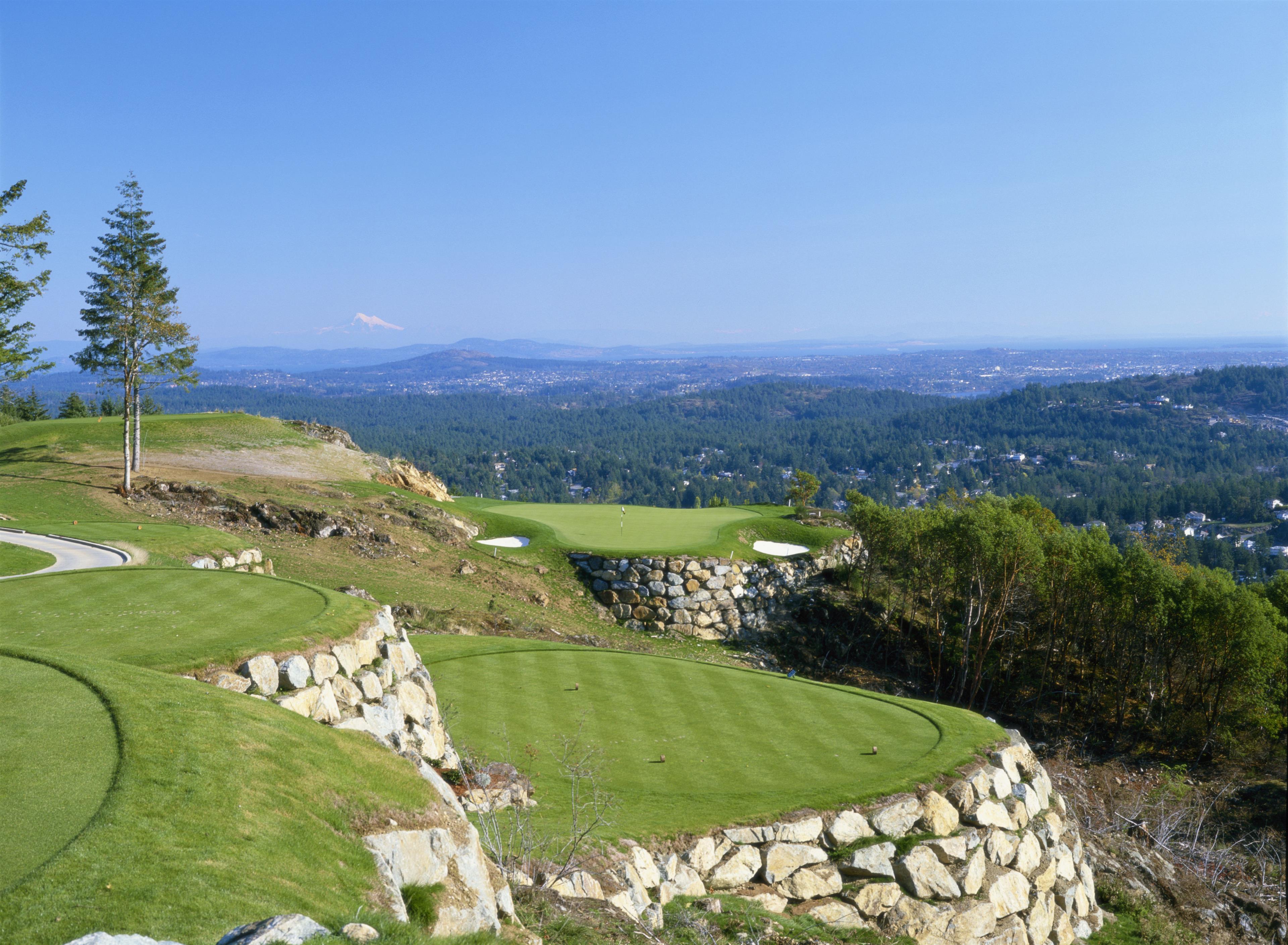 The Westin Bear Mountain Golf Resort & Spa, Victoria in Victoria: Mountain Hole #19 Betting Hole