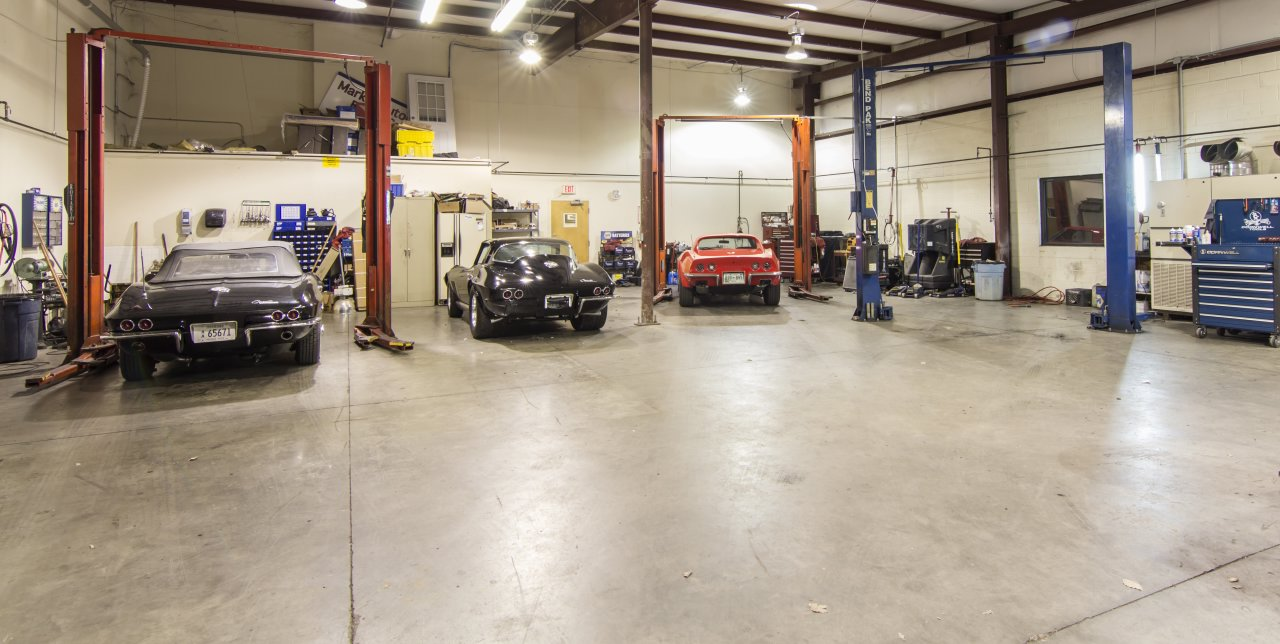 Marks Automotive Repair Center Central Pike Ste Hermitage - Mechanic shop flooring