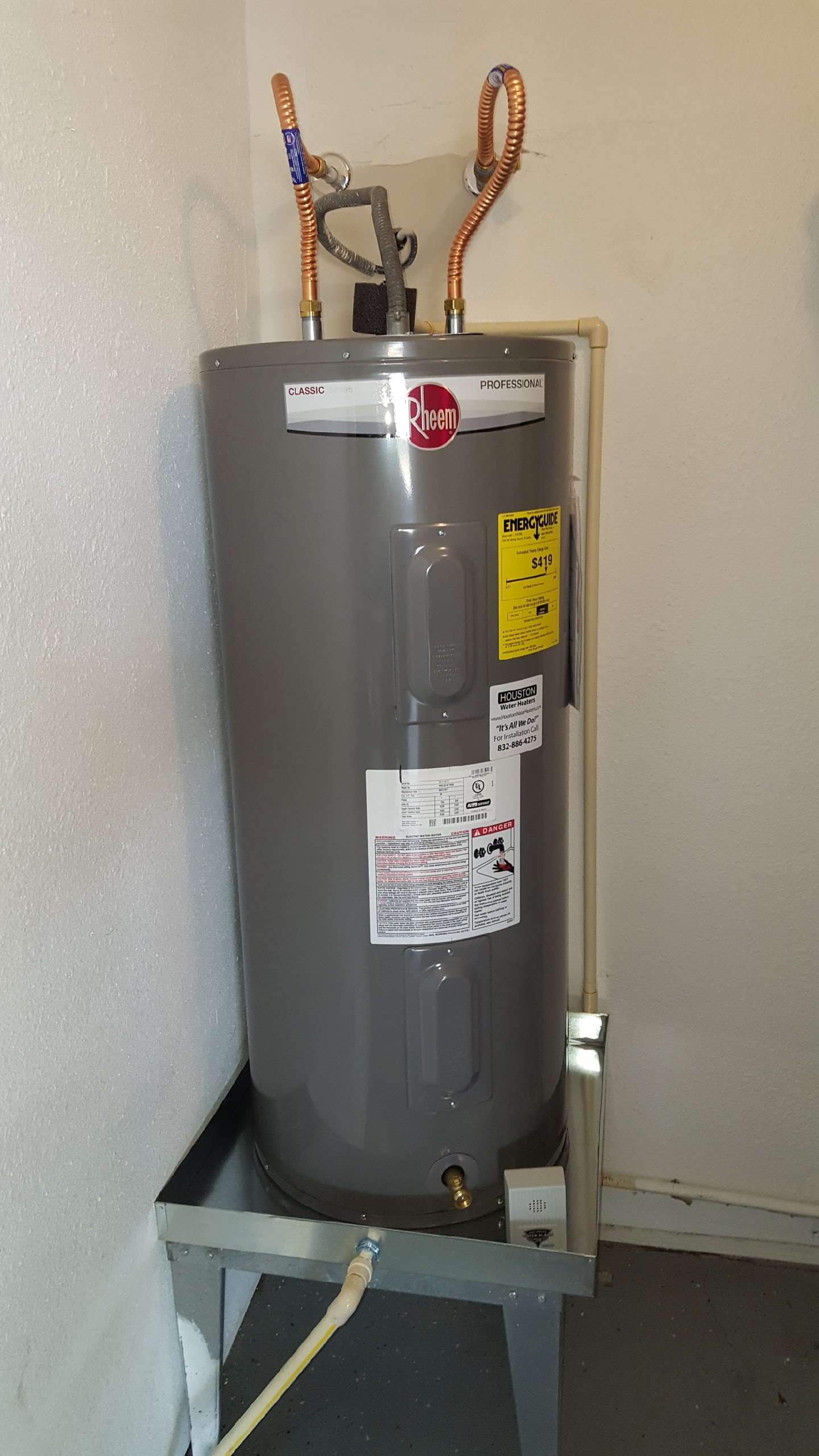 Houston water heaters houston tx company page for Plumber 77080