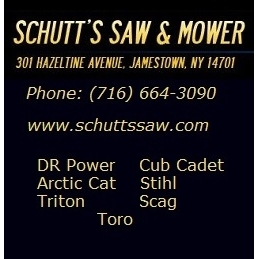 SCHUTT'S SAW & MOWER SERVICE - JAMESTOWN, NY 14701 - (716)664-3090 | ShowMeLocal.com