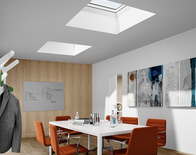 VELUX Commercial fixed skylights by Heinsight Solutions.