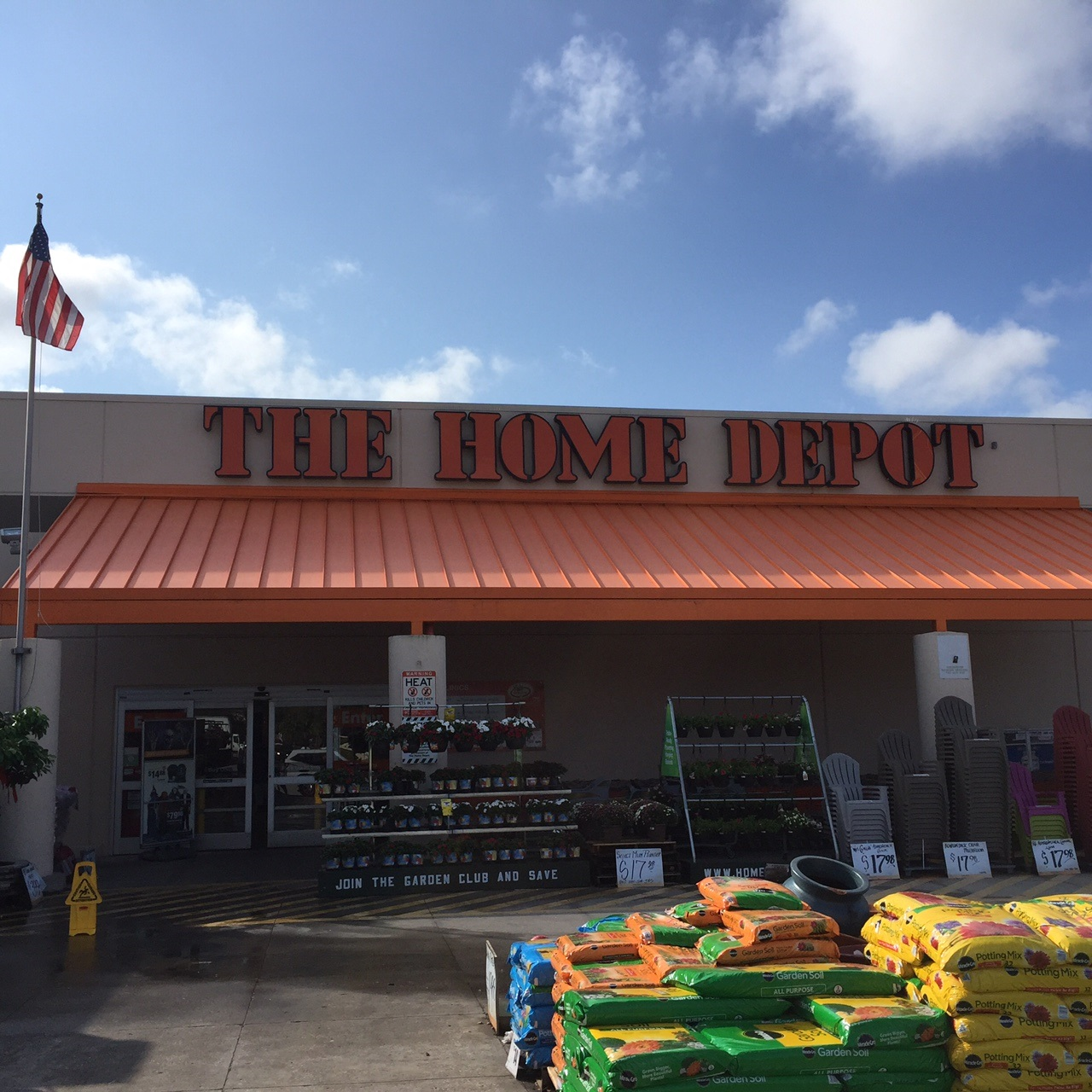 home depot clearwater