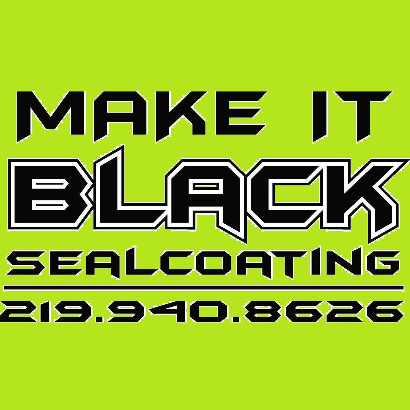 Make It Black Sealcoating