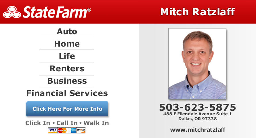 Mitch Ratzlaff - State Farm Insurance Agent image 0