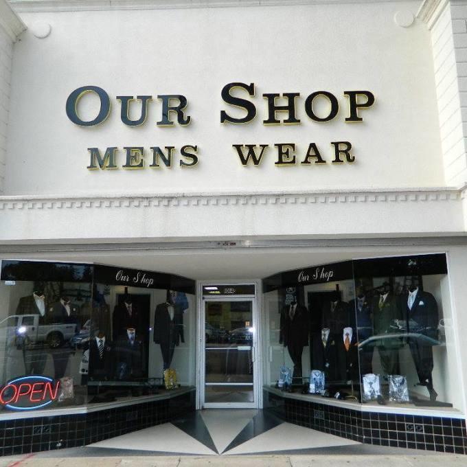 Our Shop Menswear