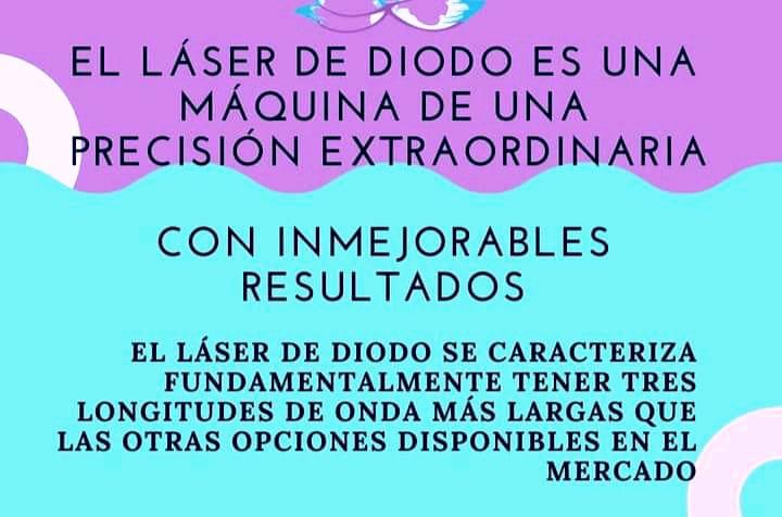 M & V DEPILACION DEFINITIVA LASER DE DIODO