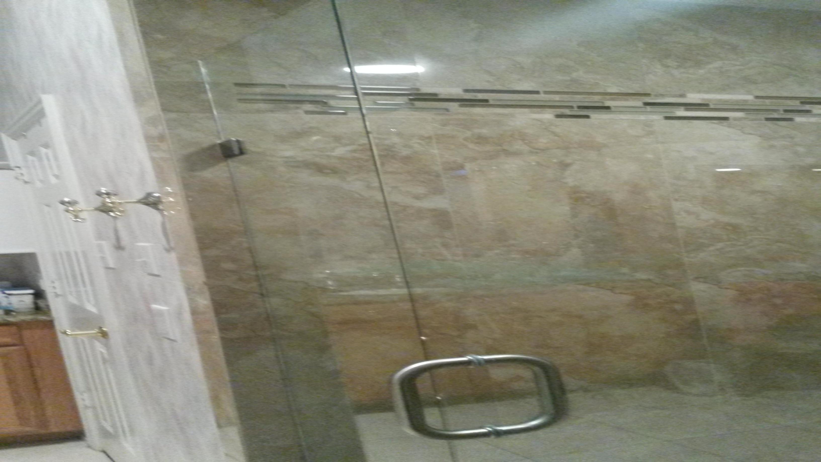 Plano Shower Door