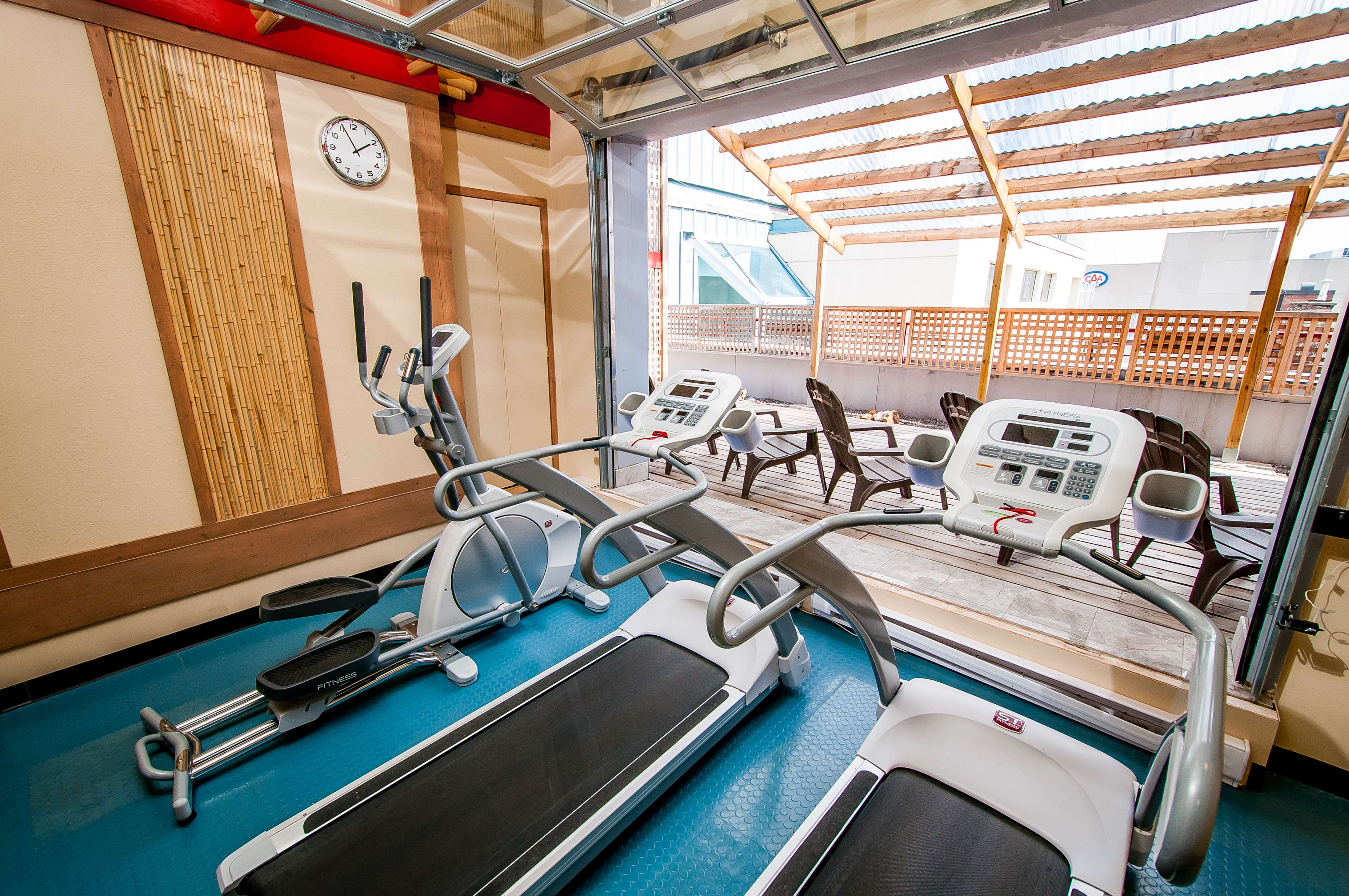 Best Western Plus Montreal Downtown-Hotel Europa à Montreal: Fitness Center