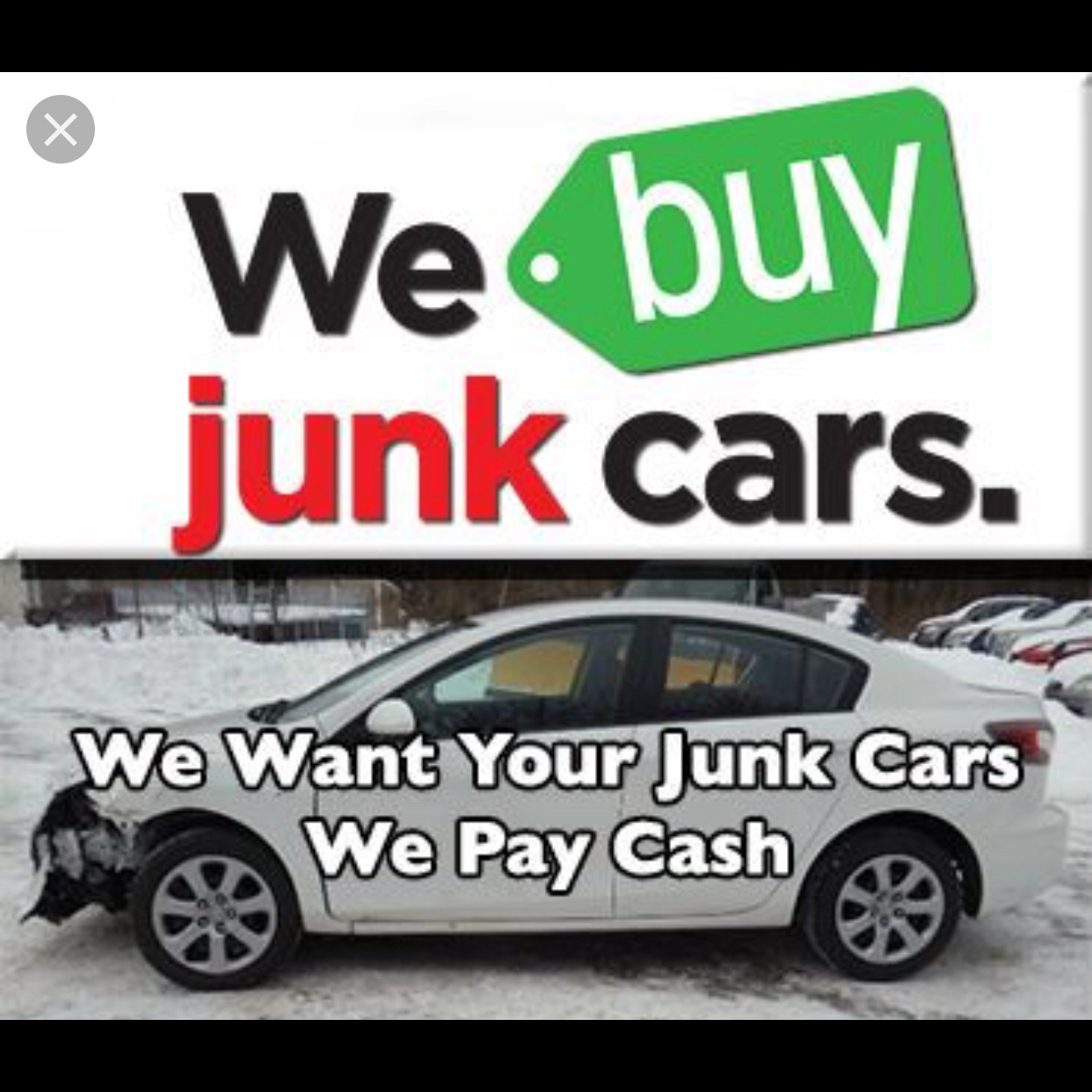 We buy Junk Cars or  Any Condition . image 3