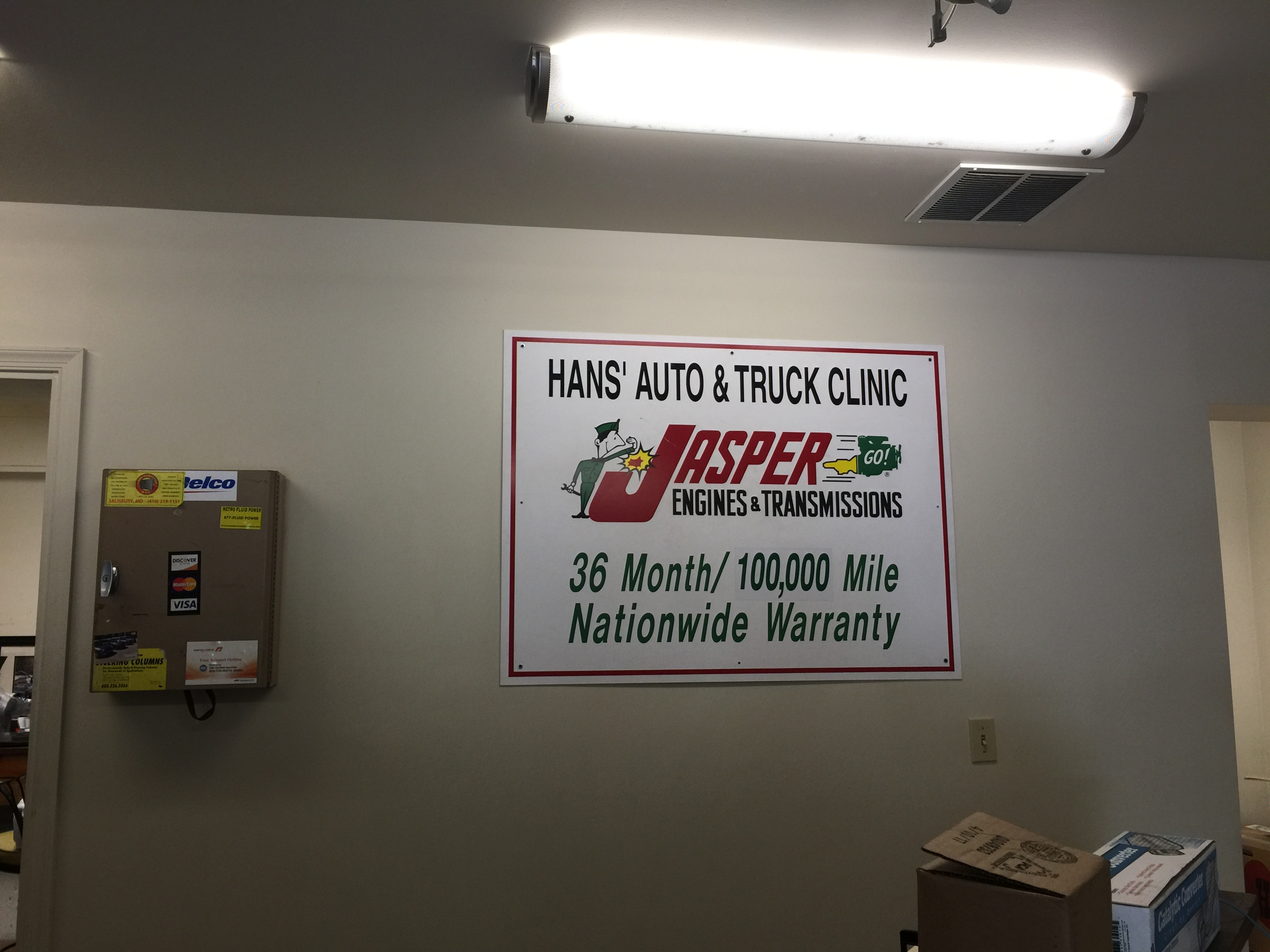 Hans' Auto & Truck Clinic image 0