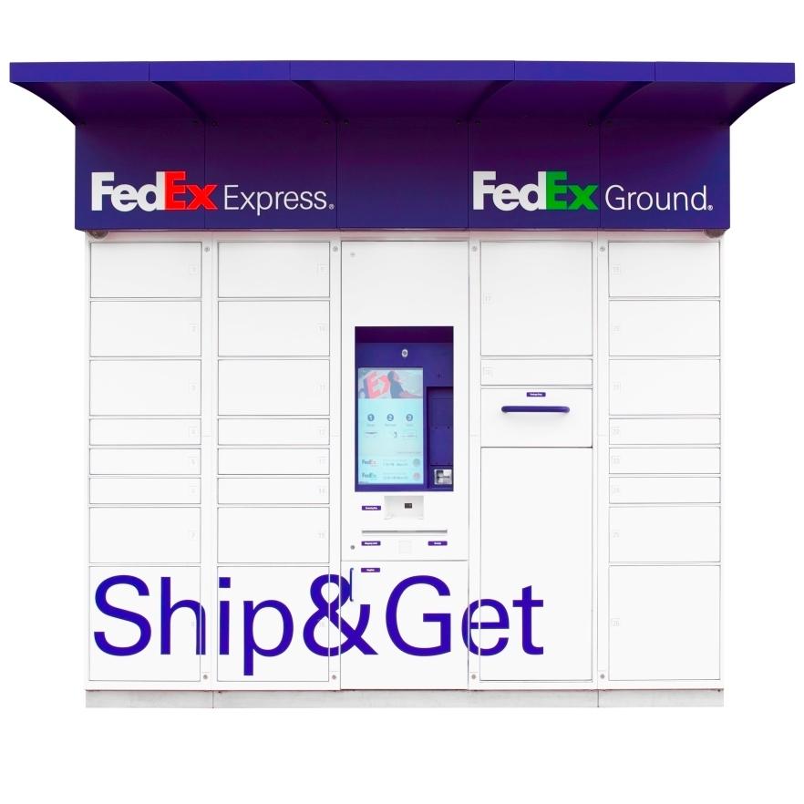 FedEx Ship&Get - ad image