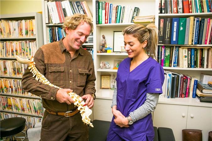 Dr. Scott Katzman with NJSO staff member, , Orthopaedic Surgeon