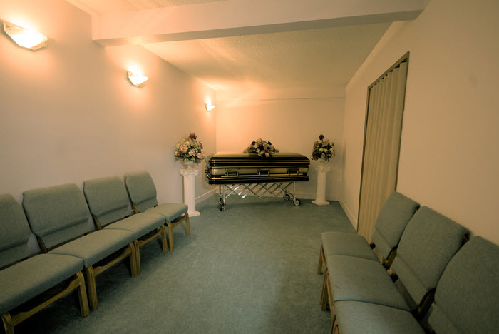Maple Ridge Funeral Chapel & Crematorium in Maple Ridge: Maple Ridge Funeral - Visitation Suite