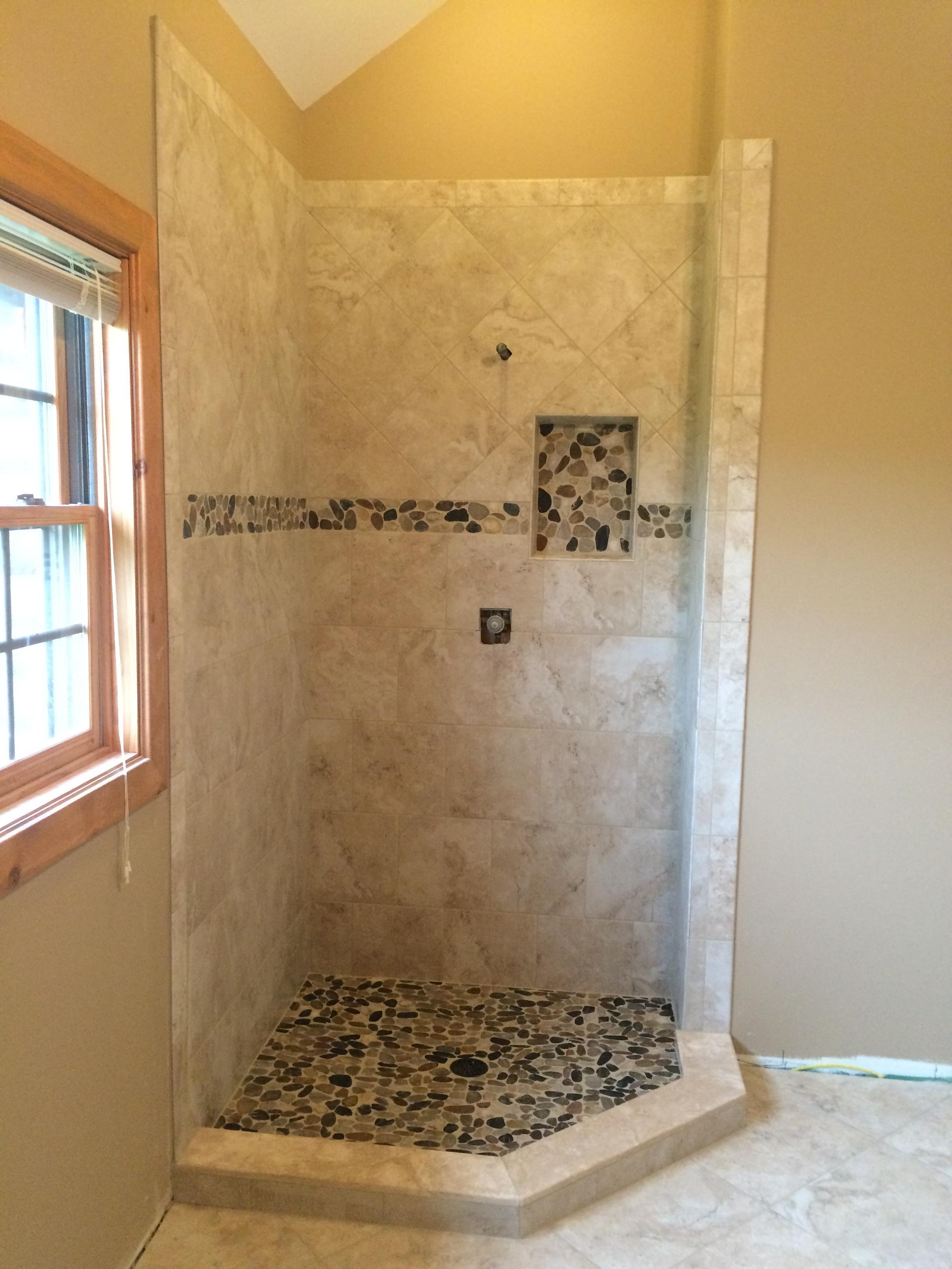 Bleach tile floor