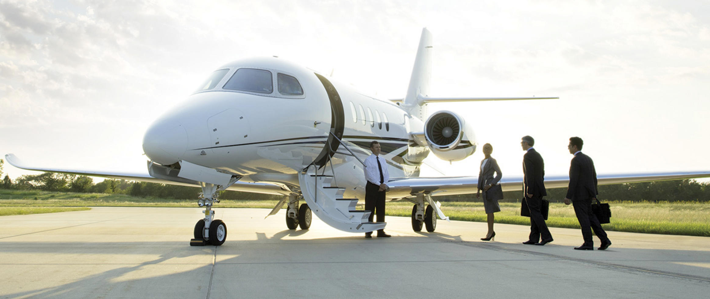 Executive jet charter service will save time and money, adding to your company's bottom line.