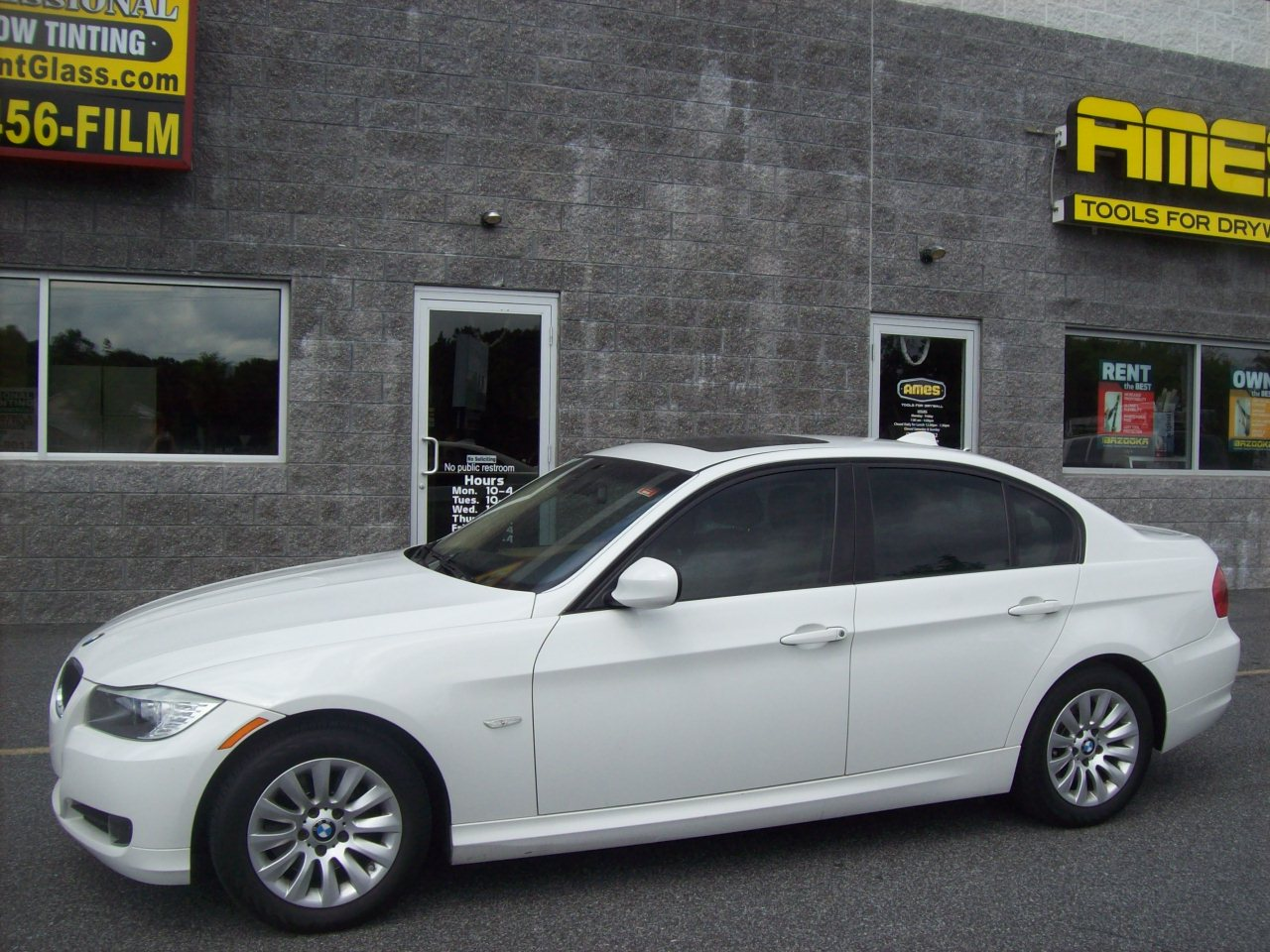 Professional window tinting inc coupons near me in newark for Window tinting near me