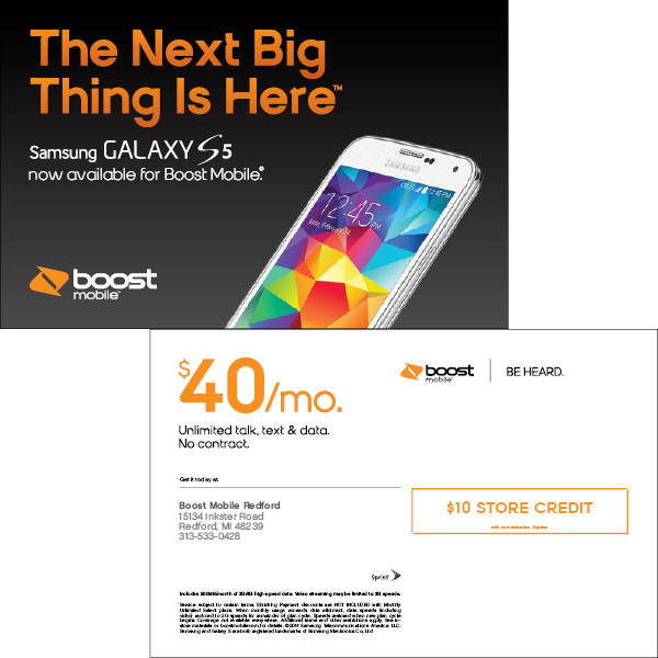 Boost Mobile Redford