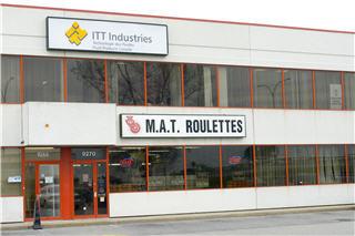 Centre de Distribution de Roulettes & Glissoires M A T à Saint-Laurent