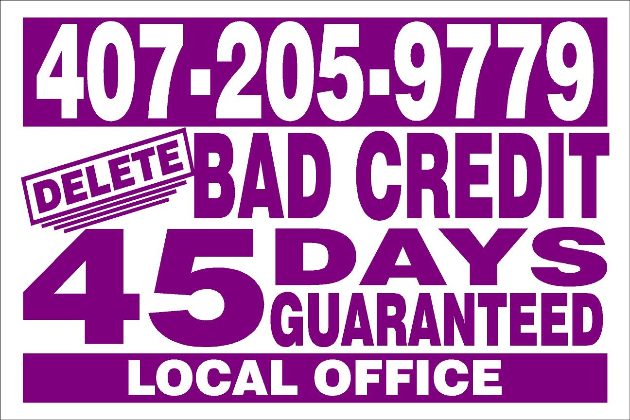 ORLANDO FLORIDA CREDIT REPAIR