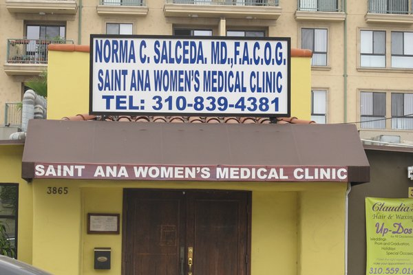 Saint Ana Women's Medical Clinic: Norma C. Salceda, MD, F.A.C.O.G. image 1