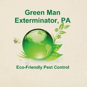 image of the Green Man Exterminator