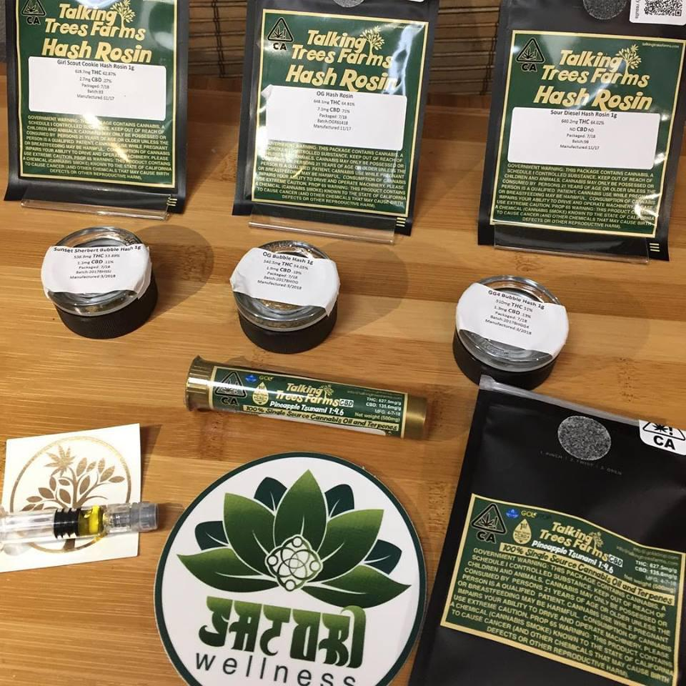 Award winning in-house cannabis farm, Talking Trees, organically grown cannabis and cannabis flower without the use of harsh chemicals and pesticides, always using organic and sustainable methods.  Gr