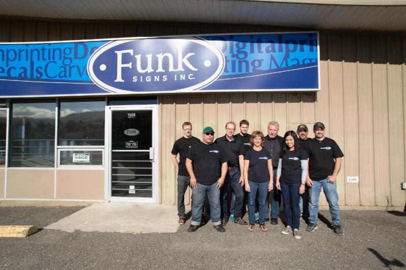 Funk Signs Inc in Kamloops