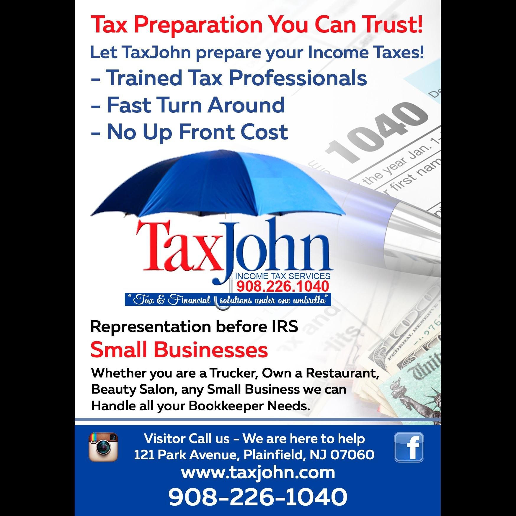 Tax John Income Tax Services